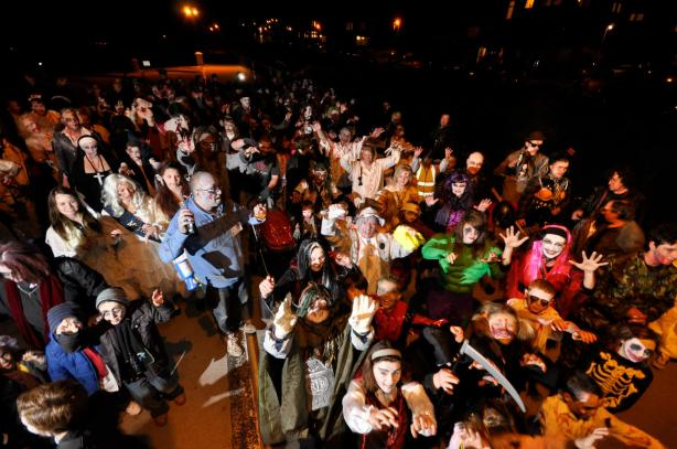 herne bay zombie crawl