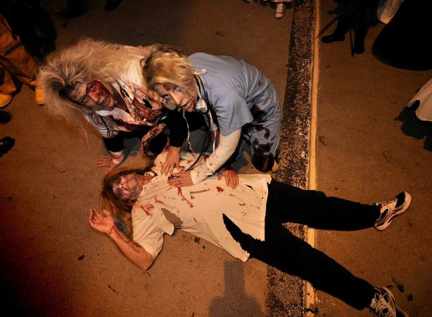 Herne Bay Zombie Crawl 2012